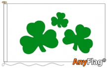 SHAMROCK  ANYFLAG RANGE - VARIOUS SIZES
